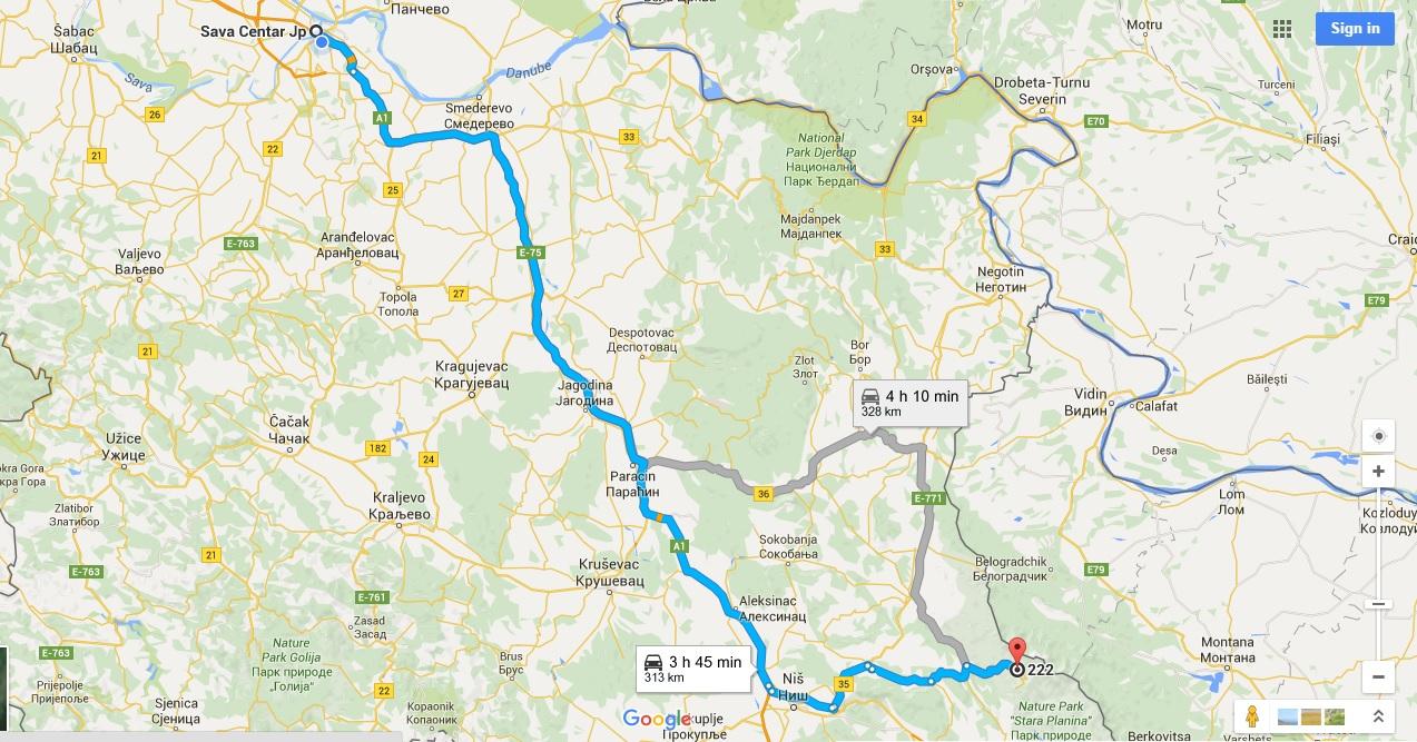 stara planina srbija mapa How to get to Stara planina | Planinski Dom Šum   Stara Planina stara planina srbija mapa